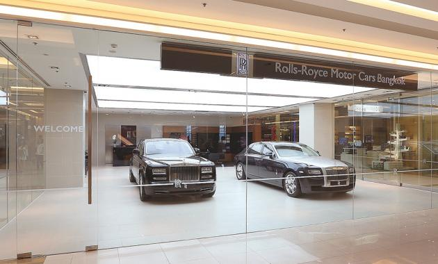 Rolls-Royce Motor Cars has launched the world's first  Boutique showroom in Thailand