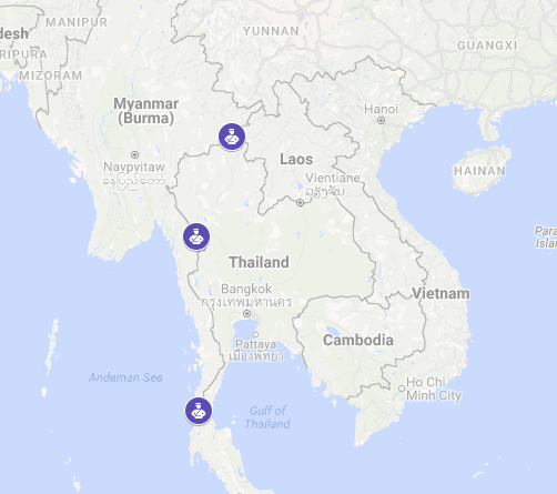 Myanmar's Ministry of Labour, Immigration and Population has extended e-visas to three overland crossings with the Kingdom of Thailand.