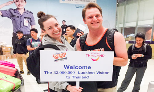 Thailand's tourism breaks new record as 32 millionth visitor arrives