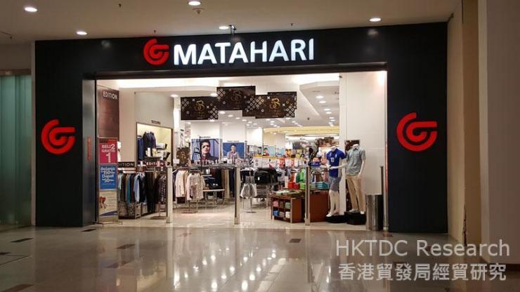 Photo: Pt Matahari Department Store Tbk: Indonesia largest department store chain.