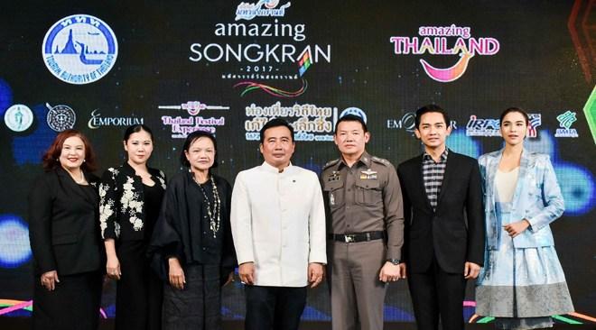 Thailand preparing colourful Songkran Splendours to celebrate Thai New Year 2017