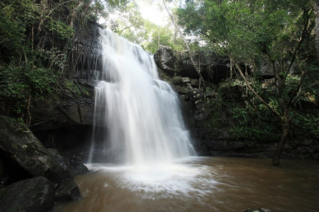 Tat Fa Waterfall in Phu Wiang National Park