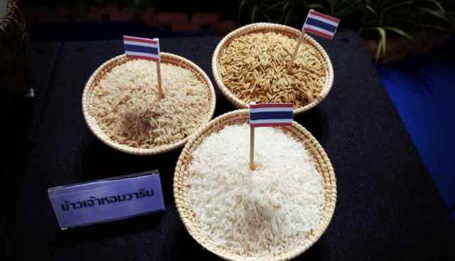 Quality Thai agricultural products such as fragrant rice are sought after by the Chinese consumer