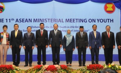 ASEAN Ministers encourage youth participation in policy discourse and volunteerism