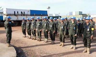 Army Engineers on Peace Mission in South Sudan