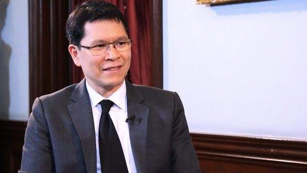 Bank of Thailand Governor Veerathai Santiprabhob