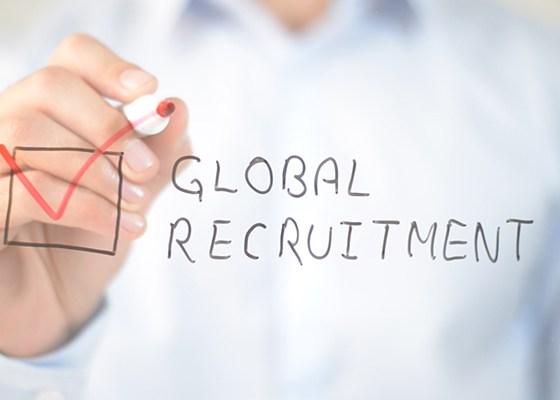 Global recruitment