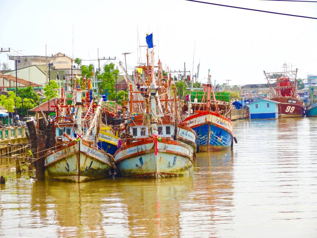 Old Boats in Pattani