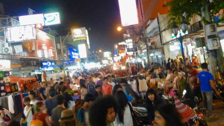 khao san road bangkok Nightlife