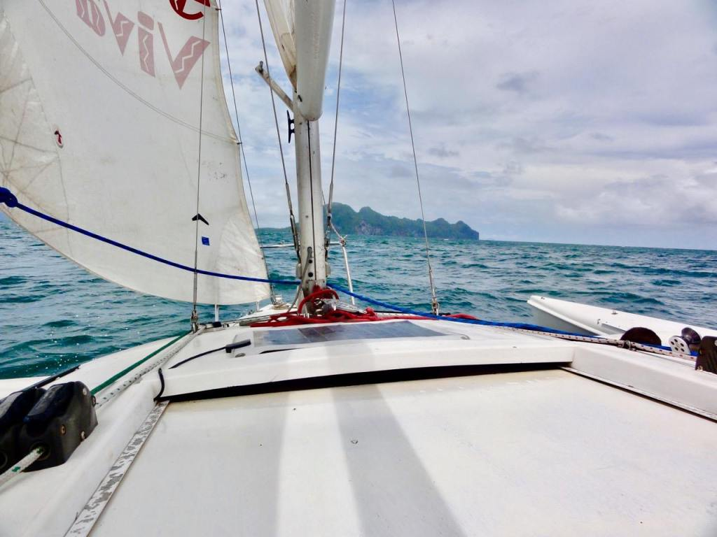 sailing in koh lanta