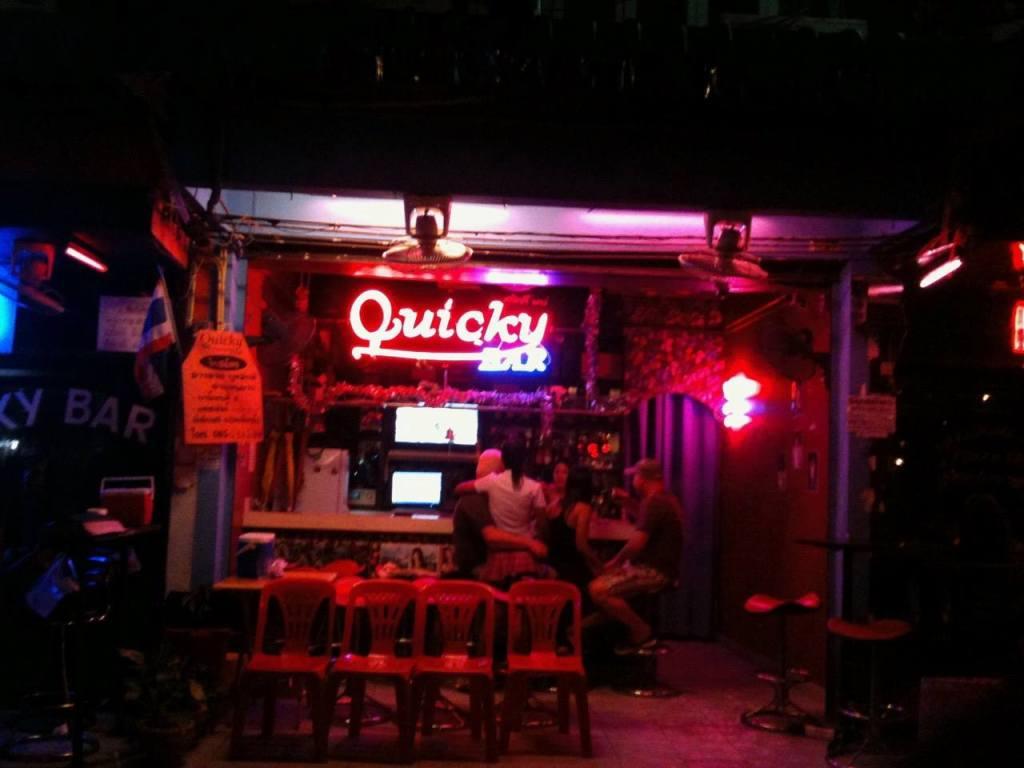 Pattaya City — Walking Street quicky bar