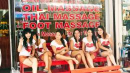 Sexy Massage girls in Thailand