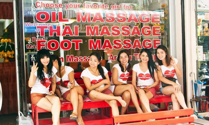 Sexy Massage girls in Thailand