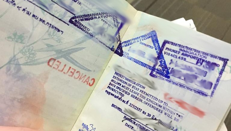 20,000 Thai Baht Fine For Visa Overstay