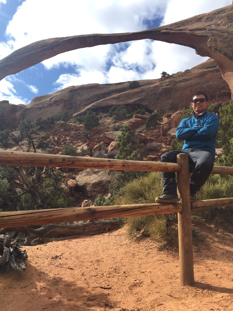 Phi at Arches National Park