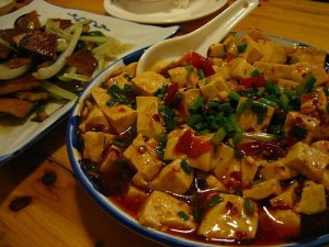 Spicy and healthy recipe with tofu  Thailand
