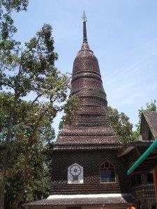 Thailand Wat Amazing Bottle temple Sisaket
