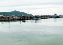 Panorama Bang Saray, Pattaya, Thailand boats