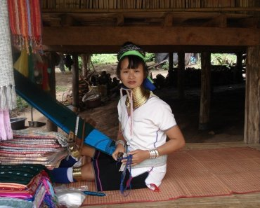 long neck tribe chiang ma