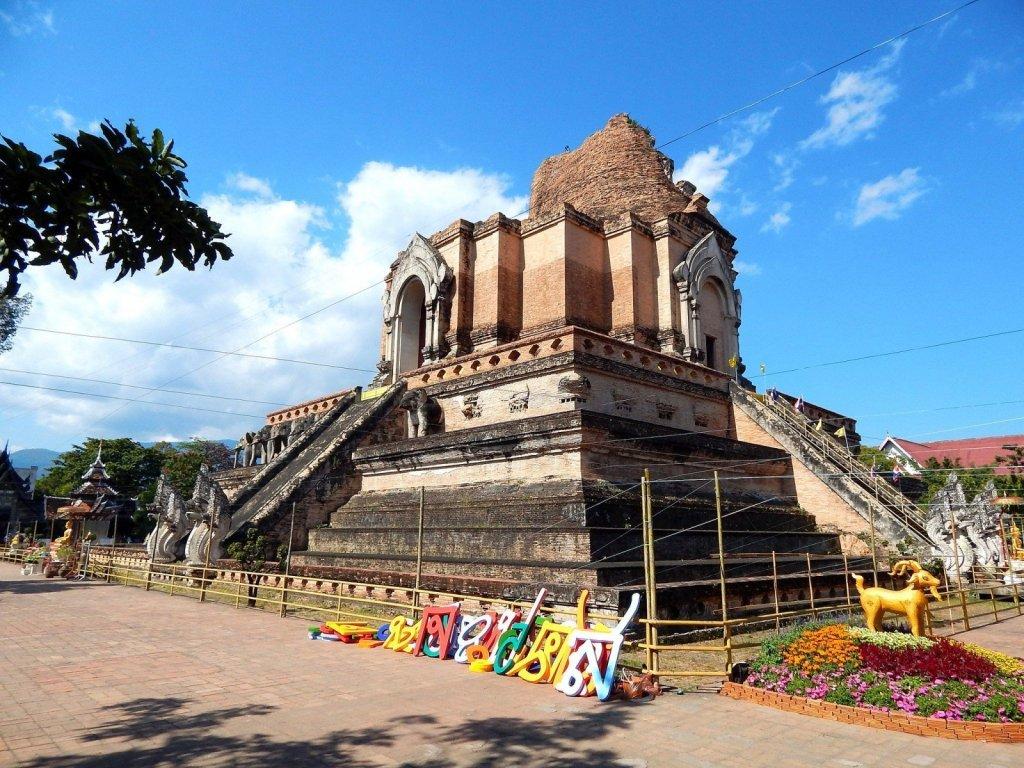 Thailand temples Chiang Mai sights Thailand