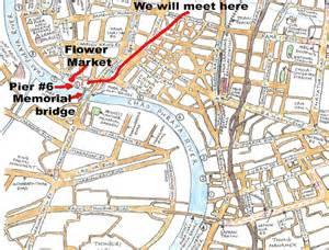Pak Klong Talad flower market map