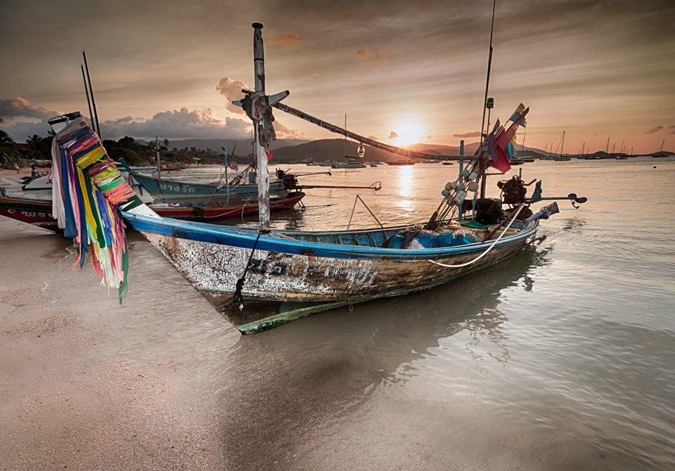 Gone fishing Bo Phut Koh Samui