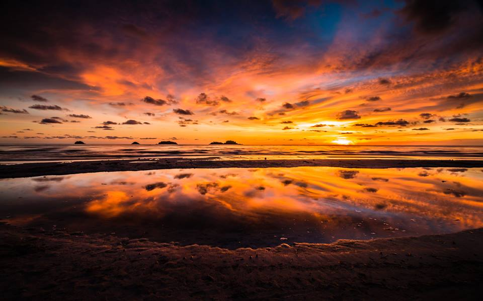 Koh Chang has some of the best sunsets you will ever see