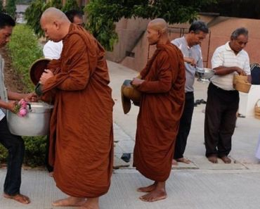 Thailand's overweight monks are put on a diet