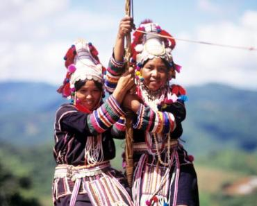 The Akha Swing Festival Thailand