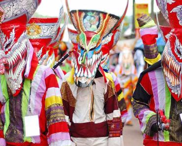 Phi Ta Khon or Ghost Festival
