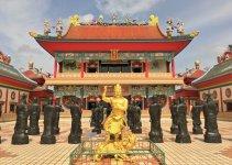 Pattaya Attractions Viharn Sien Chinese Temple
