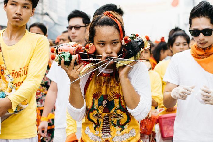 Phuket vegetable festival