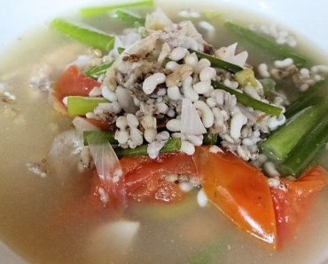 Thai Food Ant Egg Tom Yam