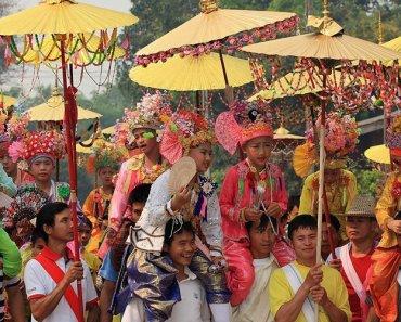Thailand Hill Tribes Tai Yai Northern Thailand