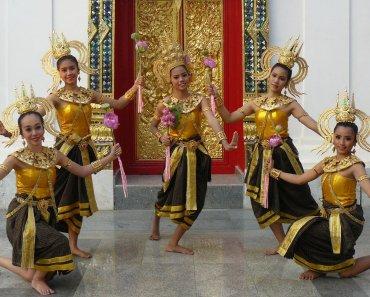 Thailand festivals Silk and Phuk Seow