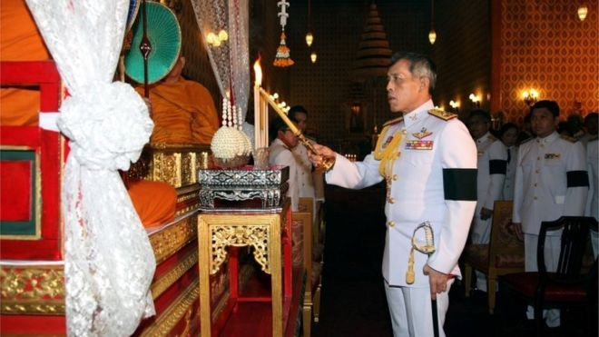 King of Thailand king Rama X