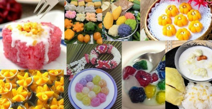 Thai Food Thailands Desserts