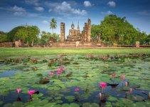 Thailand Festivals Sukhothai Loy Krathong Festival