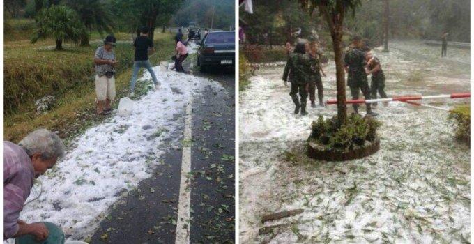 Thailand Weather Leaving Snow Prints