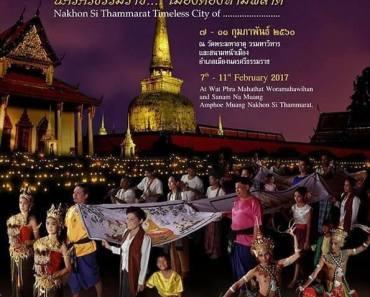 Thailand Festivals Hae Phra Khuen That