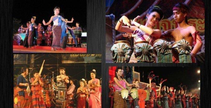 Thailand festivals Kalasin Pong Lang, Phrae Wa and Red Cross Fair