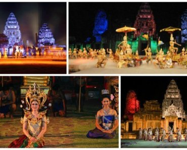 Thailand Festivals Phimai Historical Park