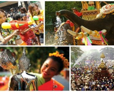 Thailand festivals April 2017