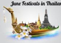 Thailand Festivals June 2017 Festivals Across Thailand
