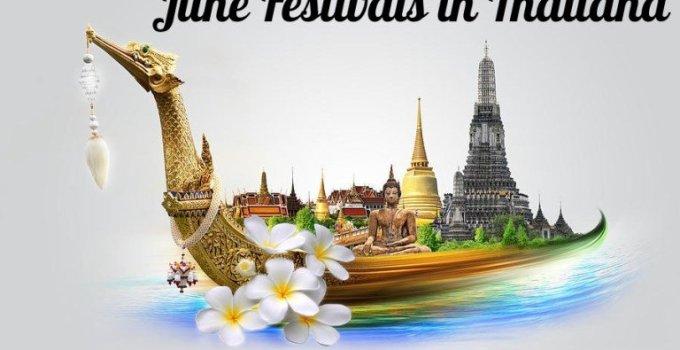 Thailand Festivals June 2017