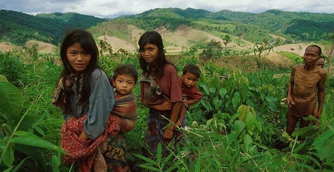 Tribal Thailand Indigenous Tribe Mlabri People Losing Their Identity