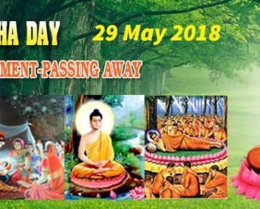 Buddhism Week Visakha Puja Festival 2018