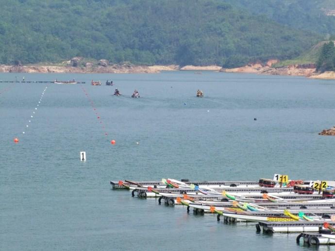 course bateau teluk bahang dam penang malaisie