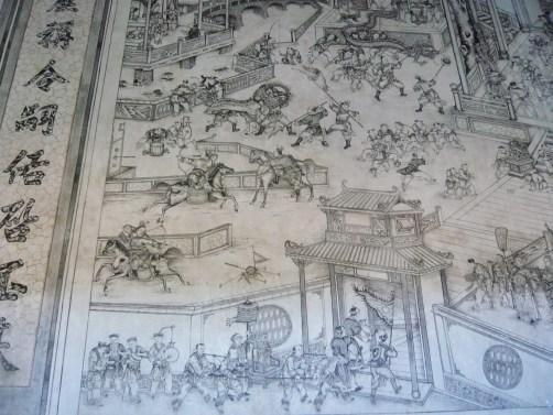 detail gravure leong san tong khoo kongsi penang