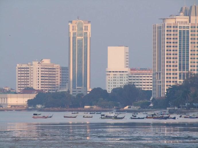 immeuble et hotel continental penang malaisie